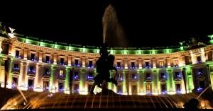 Luci a Piazza della Repubblica