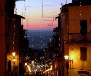 Pioggia di stelle al tramonto
