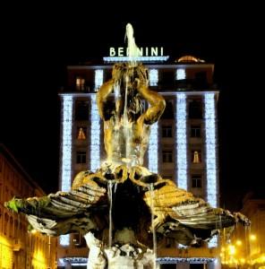 Anche a Piazza Barberini è Natale !!