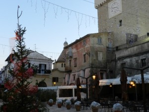 Piazza Vittorio Veneto  a San Felice Circeo (LT)