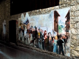 a Cibiana trent'anni di murales