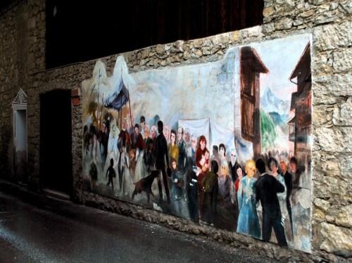 Cibiana di Cadore - a Cibiana trent'anni di murales