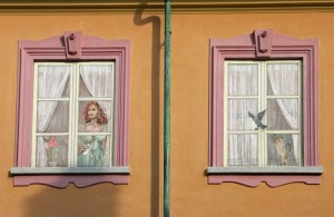 Alla finestra