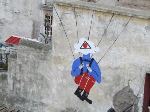 Meglio indossare un paracadute…scendere all'Inferno e' pericoloso!