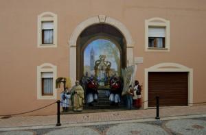 La Madonna esce in processione