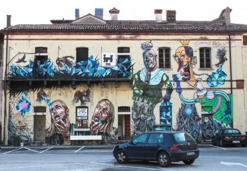 Bassano del Grappa - Parcheggio artistico