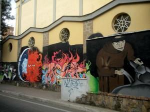 anche i muralisti possono andare in Paradiso