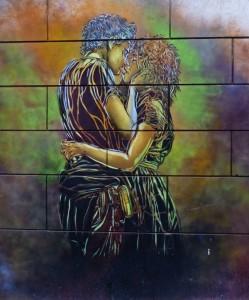 Bacio alla Garbatella