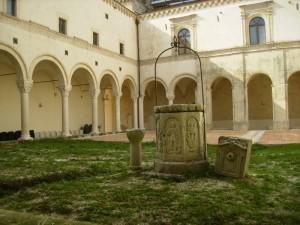 pozzo nell'abbazia