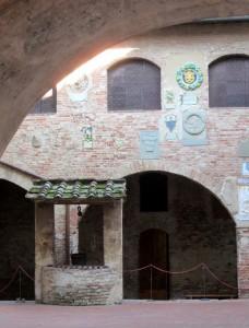 il pozzo medioevale