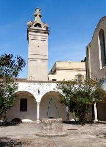 Certosa di San Giacomo, chiostro piccolo
