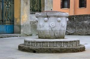 Pozzo in Via Dante
