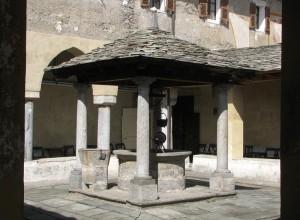 Nel Chiostro di Santa Maria delle Grazie