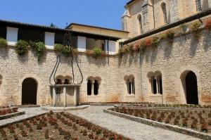 Nell' abbazia di Casamari