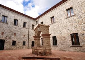 Il pozzo nel museo del Pollino