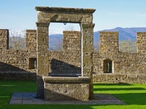 nel Castello dei Conti Guidi