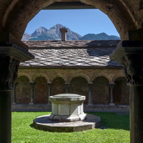 Aosta - Nel chiostro