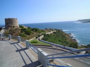 Verso la torre aragonese