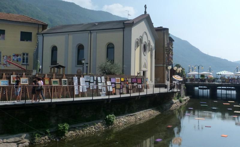 ''Una mostra lungo il fiume e nell'acqua'' - Omegna