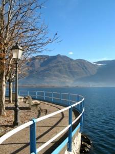 Sul lago, in inverno