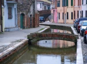 viabilità a Comacchio