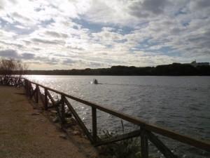 sul lago Paola