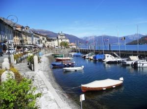 porticciolo sul Lago Maggiore