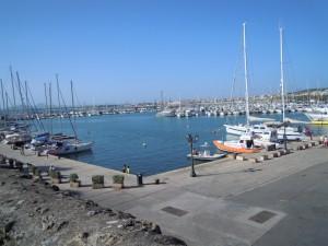 Passeggiando lungo il porto