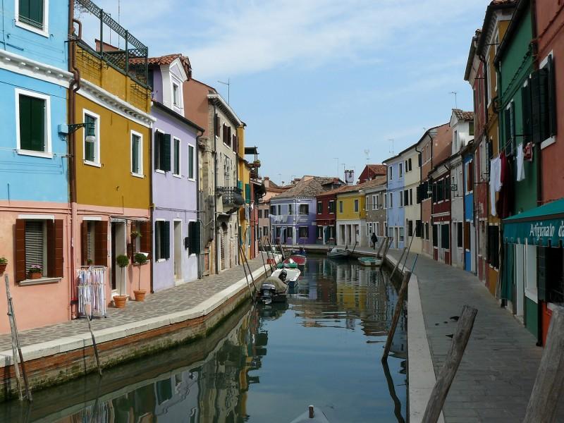 ''Tra i colori pastello'' - Venezia