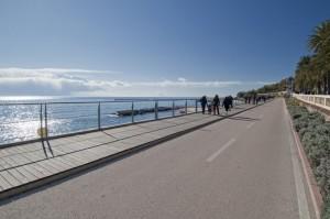 Quattro passi sulla pista ciclabile