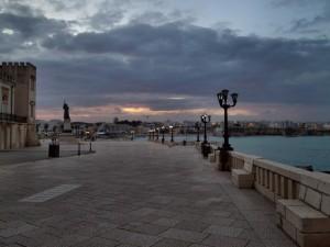 Ortanto(LE) Piazza Italia al tramonto