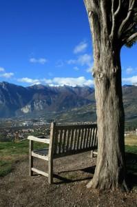 Uno sguardo ai monti ed uno al Garda