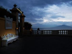 Vista sul Vesuvio