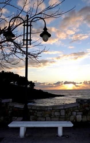 Patù - Il tramonto da Via del Mare.