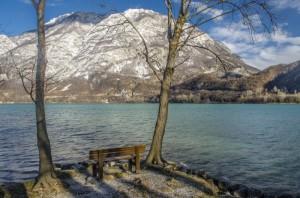 Riflessioni sul lago di Cavazzo
