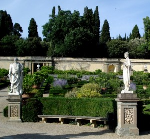Nel giardino all'italiana