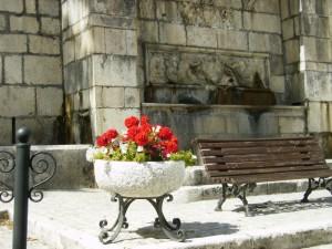 davanti alla Fontana Maggiore