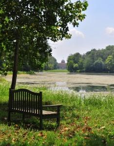 Sul lago nel Parco del Castello