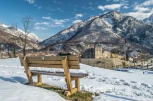 Vista sulle mura..di Venzone