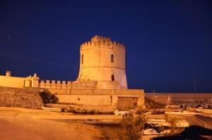 Torre e porticciolo