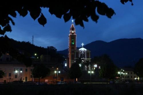Casarza Ligure - S. Monica illuminata