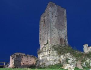 La Rocca all'ora blu