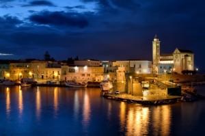 Trani ovvero fata del blu adriatico