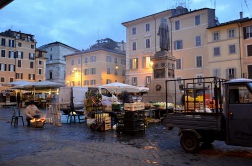 Roma - ci si scalda un pò