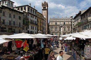 Il Mercato di Piazza delle Erbe