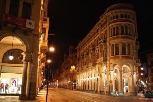 Di notte, a Torino