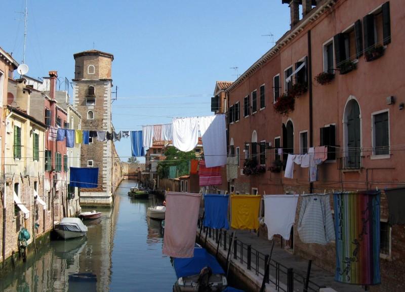 ''panni stesi'' - Venezia