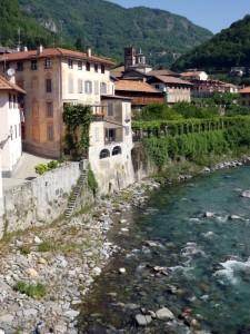 Dal ponte di via Osella