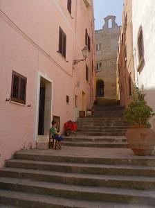 …  per le antiche scale