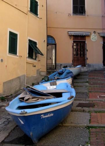 Genova - barche a riposo